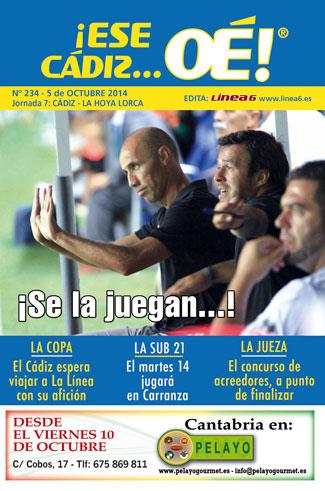 ¡Ese Cádiz…Oé! núm.234 Temporada 14/15