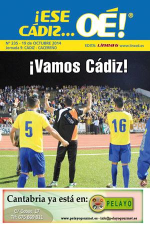 ¡Ese Cádiz…Oé! núm.235 Temporada 14/15