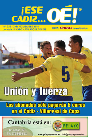 ¡Ese Cádiz…Oé! núm.236 Temporada 14/15