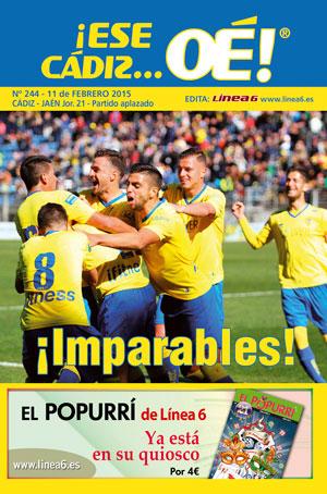¡Ese Cádiz…Oé! núm.244 Temporada 14/15