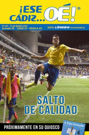 ¡Ese Cádiz…Oé! núm.247 Temporada 14/15