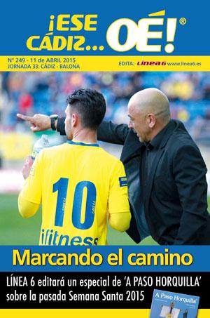 ¡Ese Cádiz…Oé! núm.249 Temporada 14/15