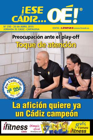 ¡Ese Cádiz…Oé! núm.250 Temporada 14/15