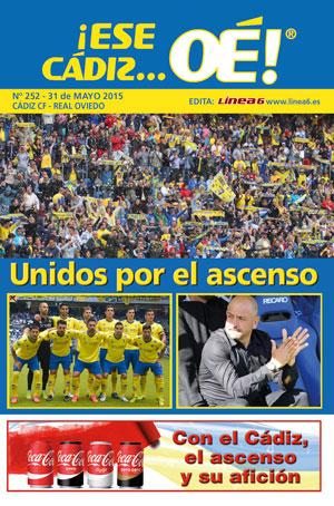 ¡Ese Cádiz…Oé! núm.252 Temporada 14/15