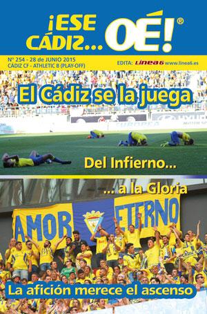 ¡Ese Cádiz…Oé! núm.254 Temporada 14/15