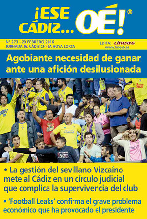 ¡Ese Cádiz…Oé! núm. 273 Temporada 2015/16