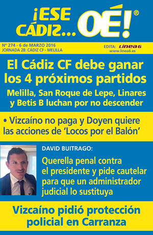 ¡Ese Cádiz…Oé! núm. 274 Temporada 2015/16