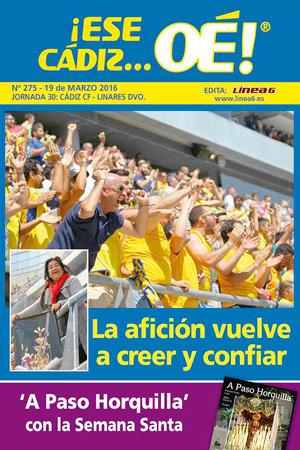 ¡Ese Cádiz…Oé! núm. 275 Temporada 2015/16