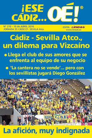 ¡Ese Cádiz…Oé! núm. 276 Temporada 2015/16