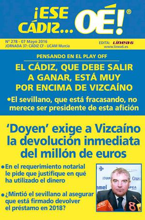¡Ese Cádiz…Oé! núm. 278 Temporada 2015/16