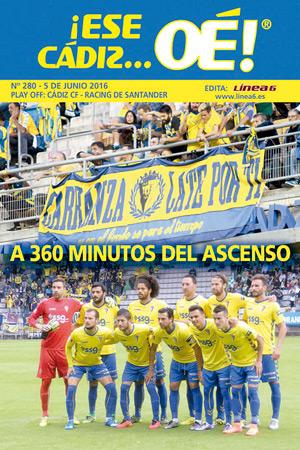 ¡Ese Cádiz…Oé! núm. 280 Temporada 2015/16