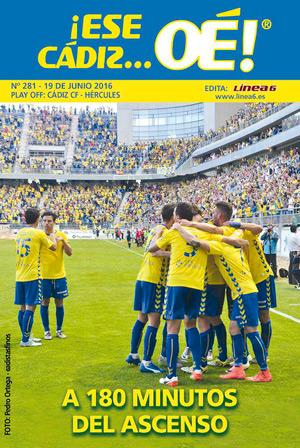 ¡Ese Cádiz…Oé! núm. 281 Temporada 2015/16