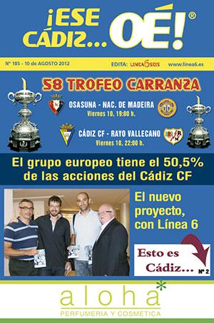 ¡Ese Cádiz…Oé! núm. 185 Temporada 2012/13