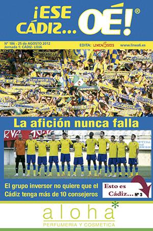 ¡Ese Cádiz…Oé! núm. 186 Temporada 2012/13