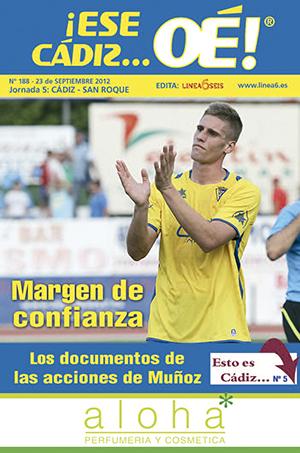 ¡Ese Cádiz…Oé! núm. 188 Temporada 2012/13