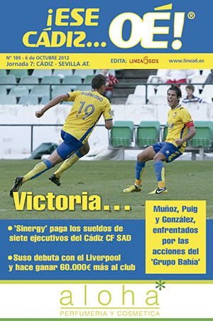 ¡Ese Cádiz…Oé! núm. 189 Temporada 2012/13