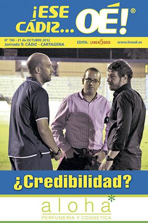 ¡Ese Cádiz…Oé! núm. 190 Temporada 2012/13