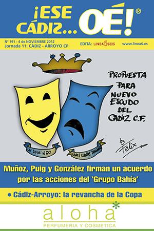 ¡Ese Cádiz…Oé! núm. 191 Temporada 2012/13