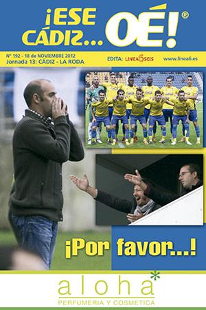 ¡Ese Cádiz…Oé! núm. 192 Temporada 2012/13