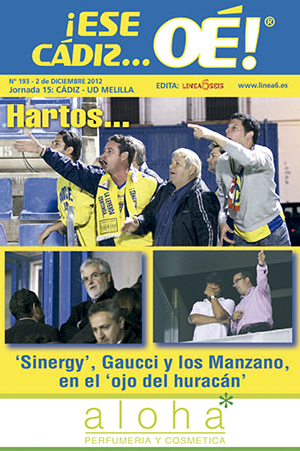 ¡Ese Cádiz…Oé! núm. 193 Temporada 2012/13