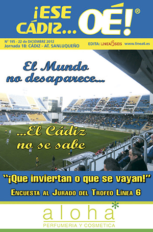 ¡Ese Cádiz…Oé! núm. 195 Temporada 2012/13