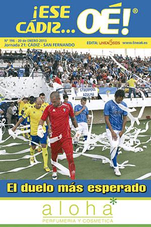 ¡Ese Cádiz…Oé! núm. 196 Temporada 2012/13