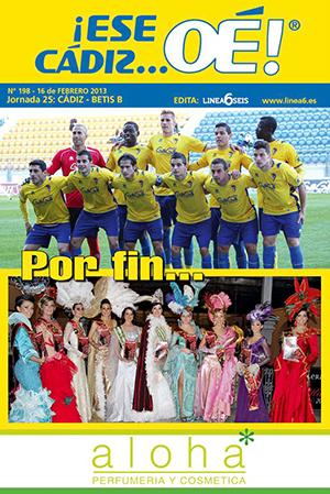 ¡Ese Cádiz…Oé! núm. 198 Temporada 2012/13