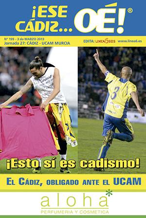 ¡Ese Cádiz…Oé! núm. 199 Temporada 2012/13