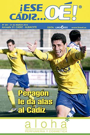 ¡Ese Cádiz…Oé! núm. 201 Temporada 2012/13