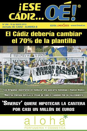 ¡Ese Cádiz…Oé! núm. 204 Temporada 2012/13