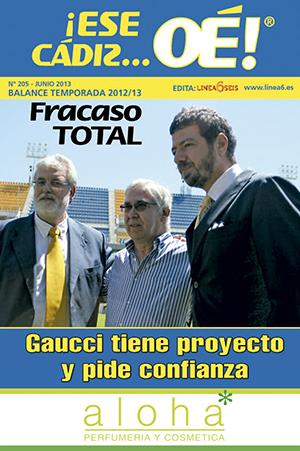 ¡Ese Cádiz…Oé! núm. 205 Temporada 2012/13