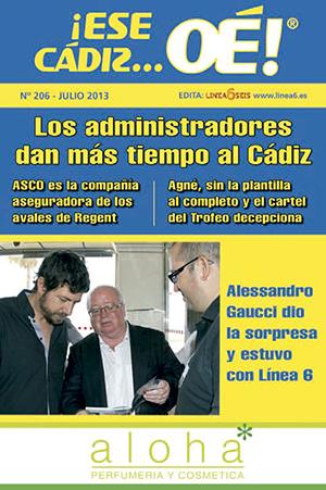 ¡Ese Cádiz…Oé! núm. 206 Temporada 2013/14