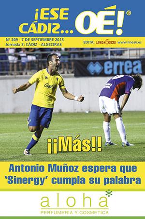 ¡Ese Cádiz…Oé! núm. 209 Temporada 2013/14