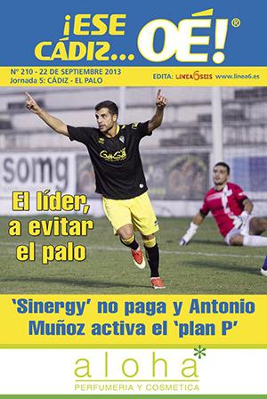 ¡Ese Cádiz…Oé! núm. 210 Temporada 2013/14