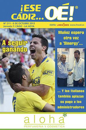 ¡Ese Cádiz…Oé! núm. 211 Temporada 2013/14