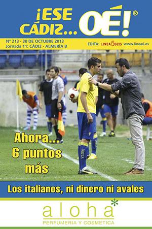 ¡Ese Cádiz…Oé! núm. 213 Temporada 2013/14
