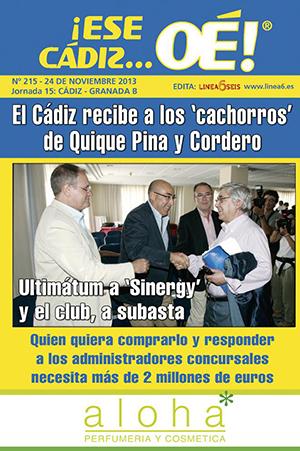 ¡Ese Cádiz…Oé! núm. 215 Temporada 2013/14