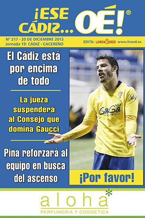 ¡Ese Cádiz…Oé! núm. 217 Temporada 2013/14