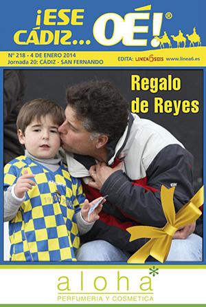 ¡Ese Cádiz…Oé! núm. 218 Temporada 2013/14
