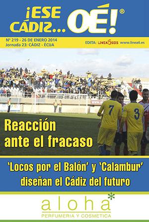 ¡Ese Cádiz…Oé! núm. 219 Temporada 2013/14