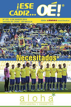 ¡Ese Cádiz…Oé! núm. 222 Temporada 2013/14