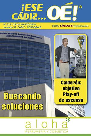 ¡Ese Cádiz…Oé! núm. 223 Temporada 2013/14