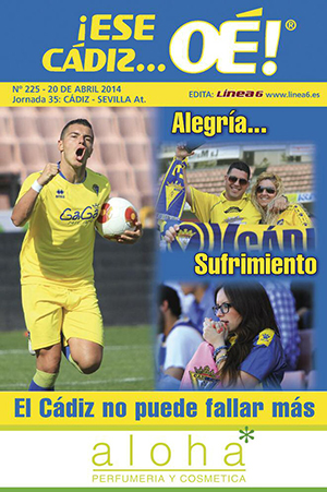 ¡Ese Cádiz…Oé! núm. 225 Temporada 2013/14