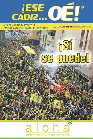 ¡Ese Cádiz…Oé! núm. 227 Temporada 2013/14