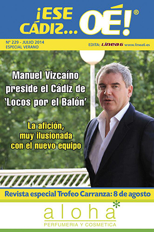 ¡Ese Cádiz…Oé! núm. 229 Temporada 2013/14