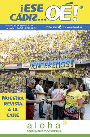 ¡Ese Cádiz…Oé! núm. 139 Temporada 2010/11