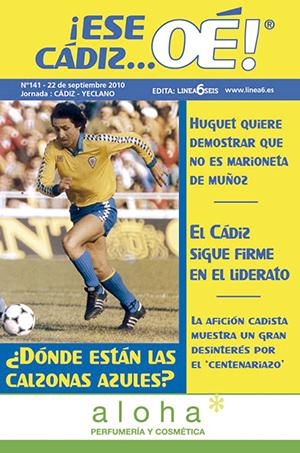 ¡Ese Cádiz…Oé! núm. 141 Temporada 2010/11