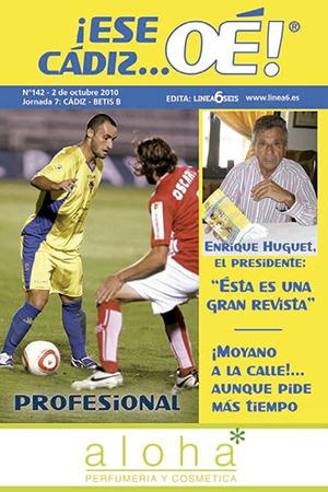 ¡Ese Cádiz…Oé! núm. 142 Temporada 2010/11
