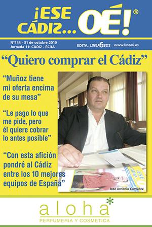 ¡Ese Cádiz…Oé! núm. 144 Temporada 2010/11