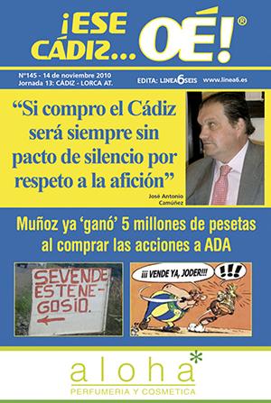 ¡Ese Cádiz…Oé! núm. 145 Temporada 2010/11